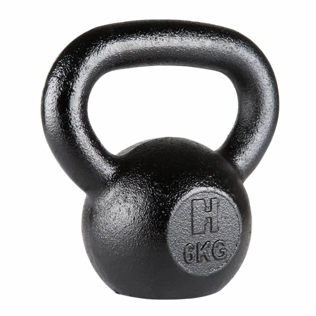 Hammer Kettlebell - Gietijzer - 6 kg