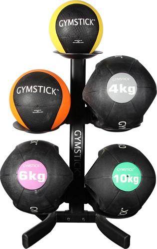 Gymstick rek voor medicijnballen en kettlebells - Mist 1 houder