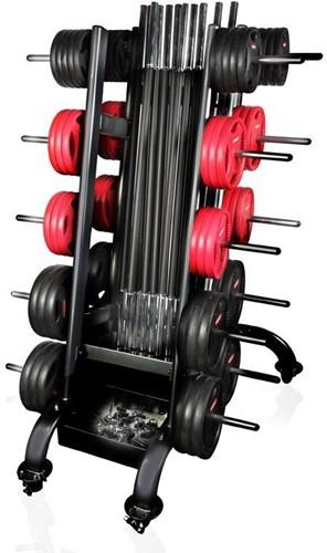 Gymstick Rek voor Pro Pump Sets