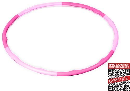 Gymstick roze hoela hoep 0.75 kg - Met Trainingsvideo's