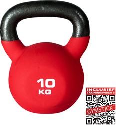 KettleBell Pro 10 Kg Neopreen Met Trainingsvideo's