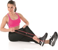 Gymstick Mini Power Band, Light (rood) - Met Online Trainingsvideo