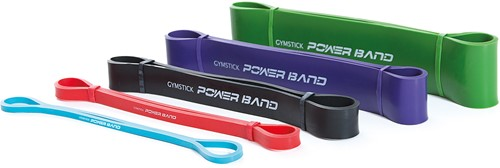 Gymstick Mini Power Band, Strong (paars) - Met Online Trainingsvideo