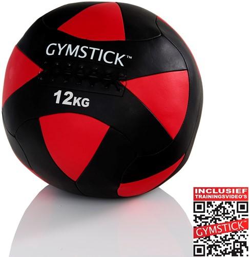 Gymstick Wallball Met Trainingsvideos - 12 kg
