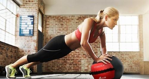 Gymstick Wallball Met Trainingsvideos - 9 kg-2