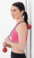Gymstick Myofascia Massage Bal met Touw-2