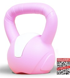 Gymstick Emotion Vinyl Kettlebell 3 kg - Met Online Trainingsvideo's
