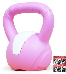 Gymstick Emotion Vinyl Kettlebell 5 kg - Met Online Trainingsvideo's