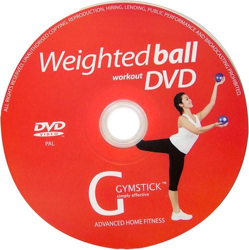 Gymstick yoga ballen 2x 1kg met work- out DVD-2