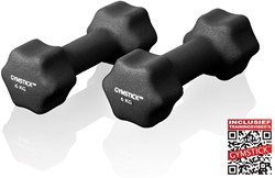 Neopreen Dumbell Set 6 Kg met Trainingsvideo's