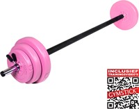 Gymstick 20 kg pump set met trainingsvideo