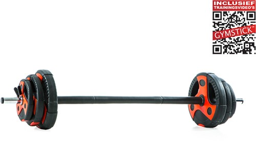Gymstick Pump Set 20 kg - Met Online Trainingsvideo's