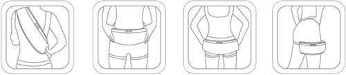 Gymstick drum nek massage gordel - Verpakking beschadigd-2
