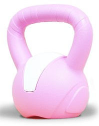Gymstick Emotion Vinyl Kettlebell 3 kg - Met Trainingsvideo's