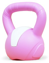 Gymstick Emotion Vinyl Kettlebell 5 kg - Met Trainingsvideo's