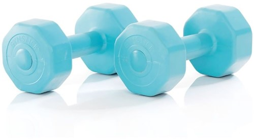 Gymstick Active Vinyl Dumbells - Met Online Trainingsvideo