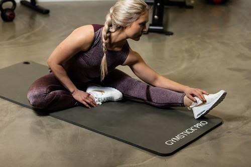 Gymstick fitnessmat NBR Grijs sfeerafbeelding 2