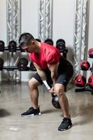 Gymstick Pro Neopreen Kettlebell - Zwart - Met Online Trainingsvideo's - 16kg-3