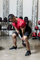 Gymstick Pro Neopreen Kettlebell - Zwart - Met Online Trainingsvideo's - 20kg-3