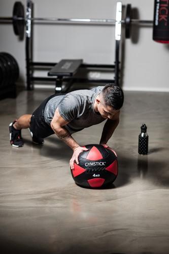 Gymstick Wallball Met Trainingsvideos - 4 kg-3