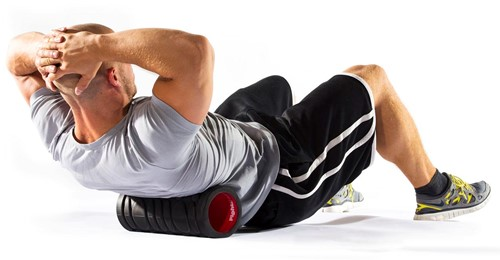 Fight Back Foam Roller met Work-Out Cards-3