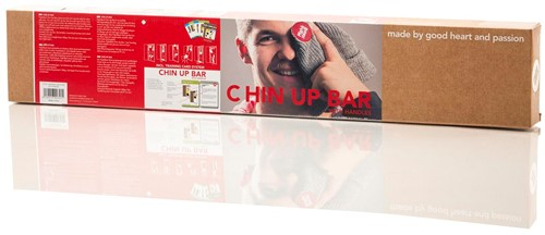 Fight Back Optrekstang-Chin Up Bar met Work-Out Cards-3