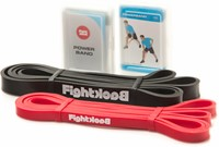 Fight Back Power Bands - Weerstandsbanden met Handvaten - Light-2