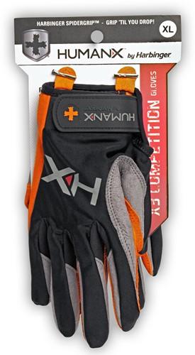 Harbinger Men's X3 Competition Crossfit Fitness Handschoenen Orange/Gray-2