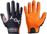 Harbinger Men's X3 Competition Crossfit Fitness Handschoenen Orange/Gray