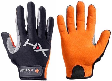 Harbinger Men's X3 Competition Crossfit Fitness Handschoenen Orange-Gray