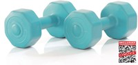 Gymstick Active Vinyl Dumbbells - Met Online Trainingsvideo