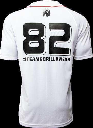 Gorilla Wear 82 Jersey - White-2
