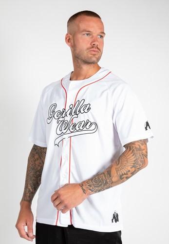 Gorilla Wear 82 Jersey T-Shirt- Wit