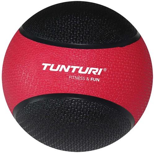 Tunturi Medicijnbal - CrossFit Bal - 3 kg - Rood/Zwart