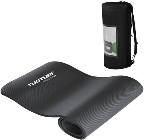 Tunturi NBR Fitnessmat - Yogamat - Zwart