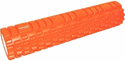 Tunturi XL Yoga Foam Grid Roller - 61 cm - Oranje