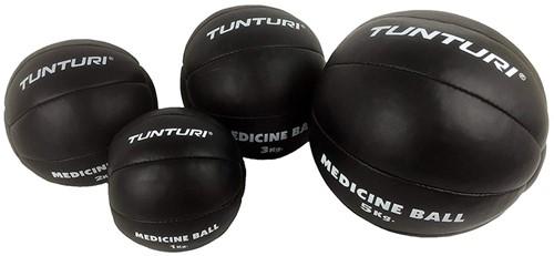 Tunturi Medicijnbal Zwart - 2kg