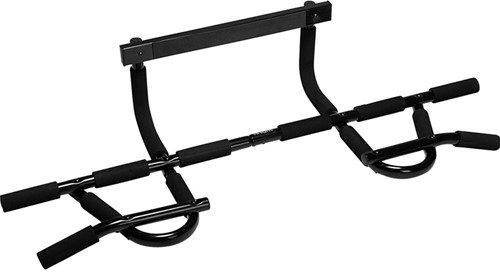 VirtuFit Multifunctionele Optrekstang - Pull Up Bar Deluxe - Zwart