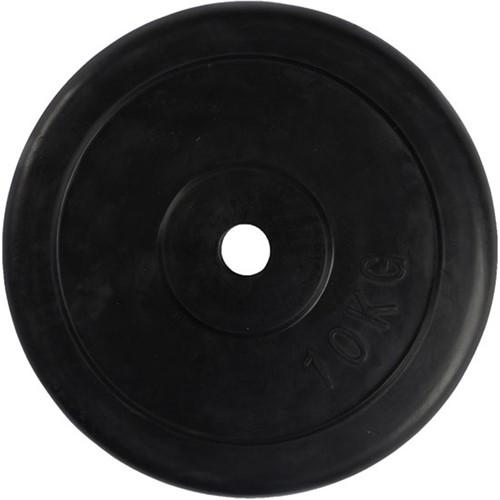 VirtuFit Rubberen Halterschijf - Halter gewicht - 30 mm - 10 kg