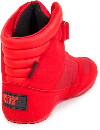 Gorilla Wear High Tops Red - Fitness schoenen-3