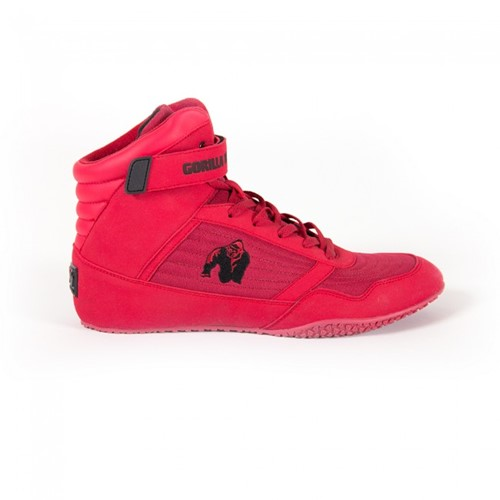Gorilla Wear High Tops Red - Fitness schoenen