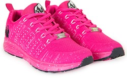 Gorilla Wear Brooklyn Knitted Sneakers - Pink/White