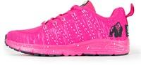 Gorilla Wear Brooklyn Knitted Sneakers - Pink/White
