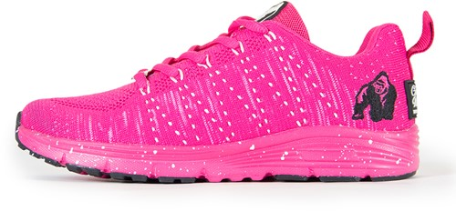 Gorilla Wear Brooklyn Knitted Sneakers - Pink/White-2