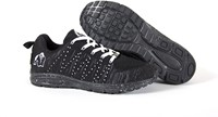 Gorilla Wear Brooklyn Knitted Sneakers (unisex) - Black/White-3