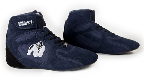 "Gorilla Wear Chicago High Tops - Navy ""Limited""-3"