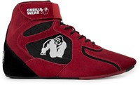 "Gorilla Wear Chicago High Tops - Red/Black ""Limited"""