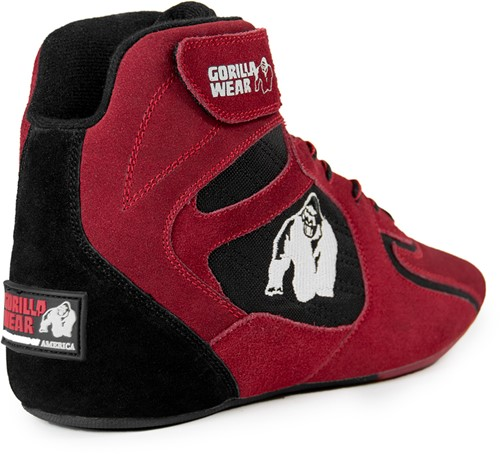 "Gorilla Wear Chicago High Tops - Red/Black ""Limited""-2"