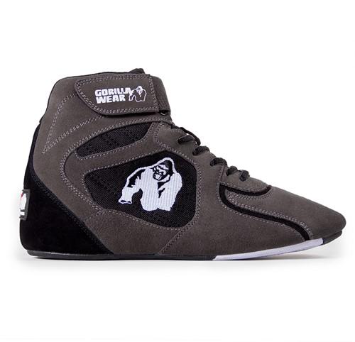 "Gorilla Wear Chicago High Tops - Gray/Black  ""Limited"""