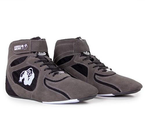 "Gorilla Wear Chicago High Tops - Gray/Black  ""Limited""-3"